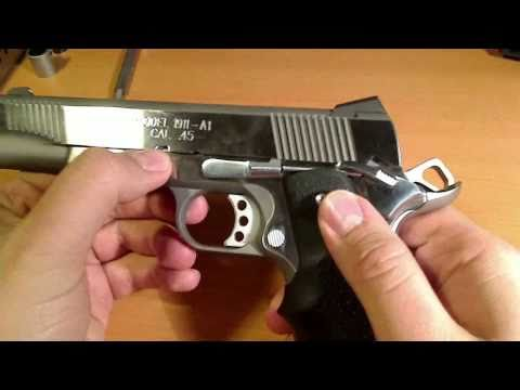 Springfield 1911-A1 Field Strip and re assembly