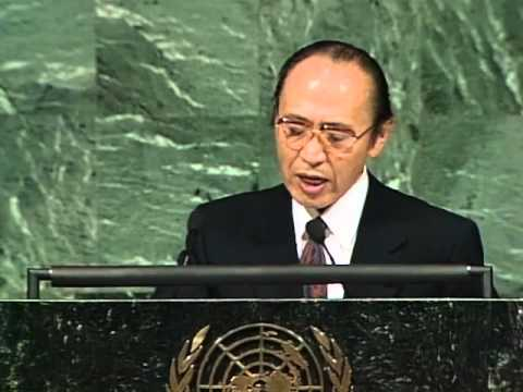 Excerpt from speech by Minister for Foreign Affairs, Mr. Watanabe at the 47th UNGA (1992)