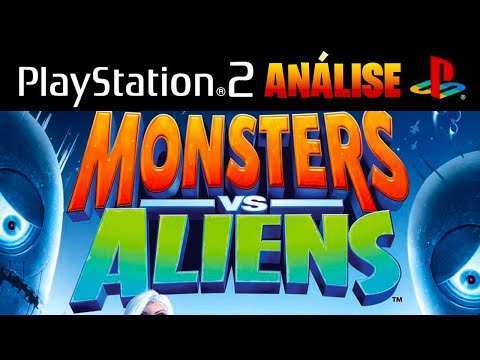 Monsters vs Aliens PS2 (português)
