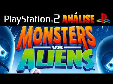 Monsters vs Aliens PS2 (português)