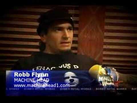 ROBB FLYNN (Machine Head) on Robb's MetalWorks
