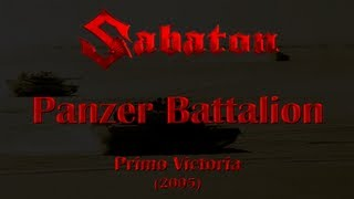 Watch Sabaton Panzer Battalion video
