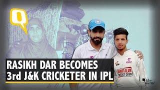 Kulgam's Rasikh Dar Becomes Third Kashmiri Cricketer in IPL | The Quint