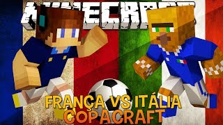 França Vs Itália - Copacraft Minecraft