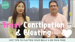 IBS treatment: constipation and bloating - Hot tips to flatten your belly & be pain free