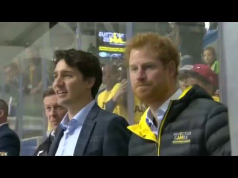Prince Harry and Justin Trudeau launch Invictus Games 2017