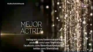 Beren Saat the best actress award from Peru