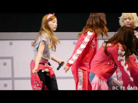 [FANCAM] 130407 LG Cinema 3D World Festival - Dancing Queen by 쏭감독
