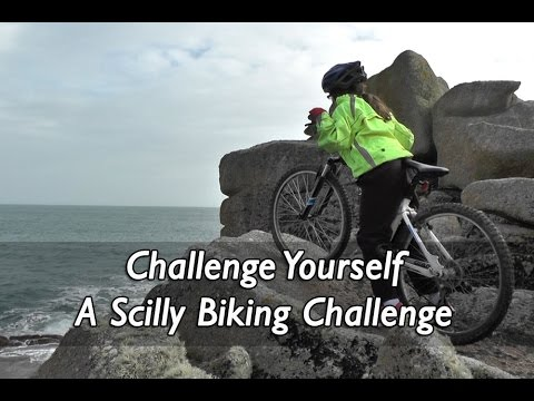 Scilly Cycling Challenge - cycling around St Mary's, Isles of Scilly