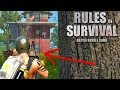 Clutch Grenade Launcher Finish! (Rules of Survival: Battle Royale)