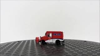Acapsule Product Video Canada Post Long Life Vehicle LLV 1/64 Diecast Model with Mailbox