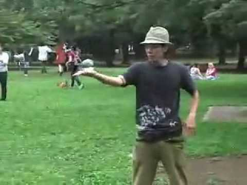 Talented Glass Ball Contact Juggler