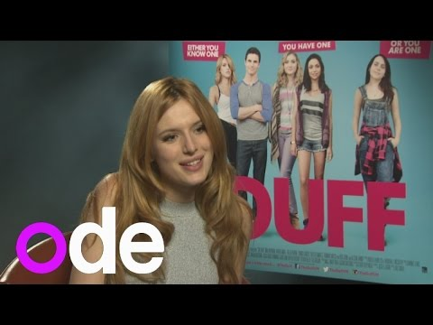 The DUFF: Bella Thorne on being the new 'mean girl' and the type of guys she likes to date