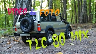 RC Adventures Toyota Land Cruiser 80 vx ( video & foto mix) HD