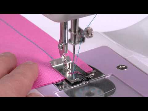 SINGER® PIXIE™ PLUS Stitching Tutorial