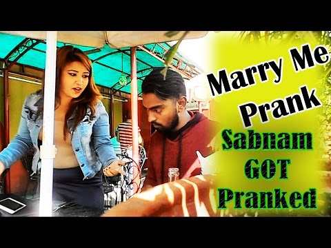 "Nepali Prank - ""Marry Me Prank to Prankster Sabnam"" // Enjoy Every Moment //"