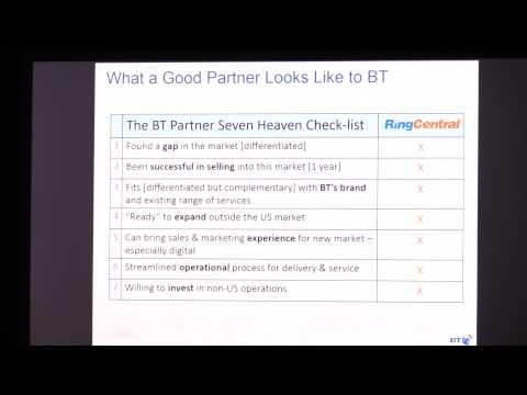 #TC3summit Case Study: British Telecom & RingCentral