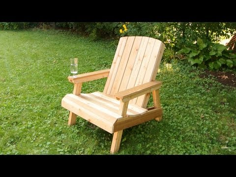 Building a lawn chair (old edit)