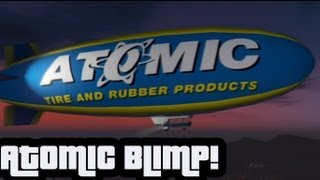 GTA V: Atomic Blimp Suicide Jump HD