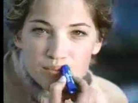 Colleen Haskell Blistex commercial
