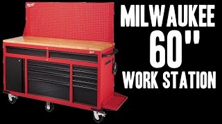 "Milwaukee 60"" Mobile Work Station - 48-22-8560"
