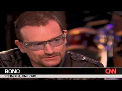 Bono interviews George Clooney part 1/2
