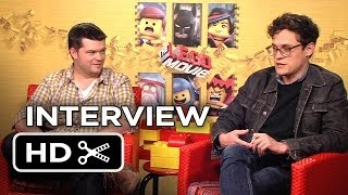 The Lego Movie Interview - Phil Lord & Christopher Miller (2014) - Animated Movie HD