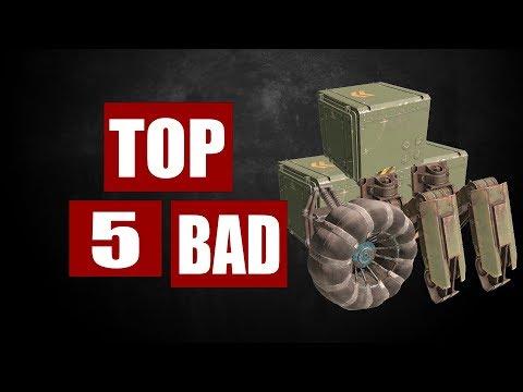 Топ 5 худших деталей в игре Кроссаут.