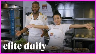 Cierra Ramirez & Trevor Jackson Make Gourmet Pizza | Take Me With You