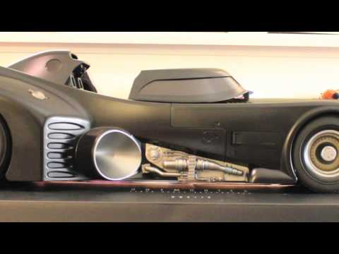 Batman 1989 Hot Toys Batmobile Movie Masterpiece 1/6 Scale Collectible Vehicle Review