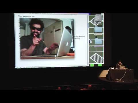 ADAM BUXTON READS OUT YOU TUBE COMMENTS FOR  APPLE MAC MUSIC VIDEO