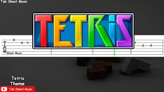 Tetris - Theme (Korobeiniki) Guitar Tutorial