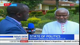 Bishop Cornelius Korir in Eldoret weighs in on the state of politics as Raila chooses to step down