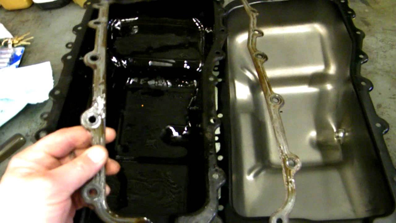 change your rusty dodge oil pan diy edition