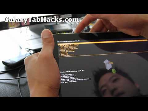 How to Install new ROMS on Galaxy Tab 10.1!