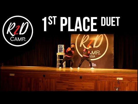 1st Place - Duet - R2D CAMP ASIA (Competition) x totheculture