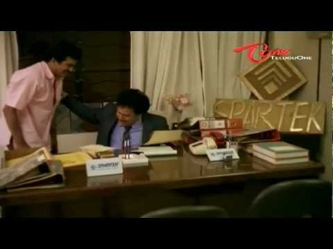 Rajendra Prasad Comedy Scene With Giribabu In Office