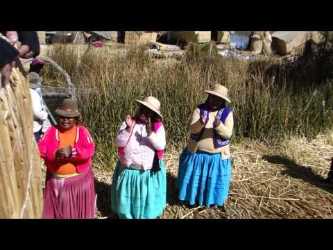 Povo de Uros! Lago Titicaca- Peru