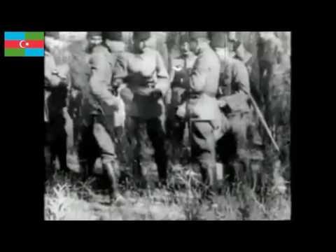 Anafartalar Grup Komutanı Mustafa Kemal Atatürk'ün Çanakkale Cephesinde çekilen nadir görüntüleri