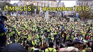 GILETS JAUNES - 1 DÉCEMBRE 2018 - LIMOGES