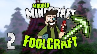 Minecraft: FOOLCRAFT | #2: THE OP TOOL OF DOOM (FOOLPROOF!) [Modded Minecraft]