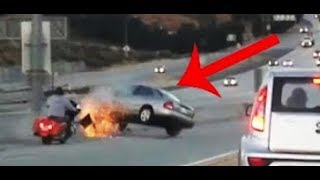 30 случаев отличной реакции водителей на дороге! Вubble