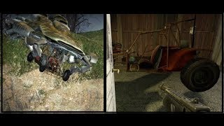 Half-Life 2: Sand traps. Scout Car continuity mistake at the lighthouse.