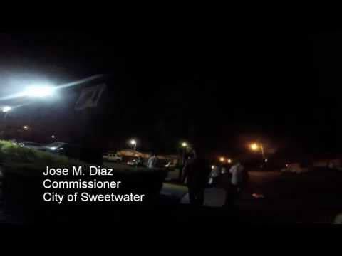 Jose M. Diaz Asked to Comment on Sweetwater Council Decision July 2016