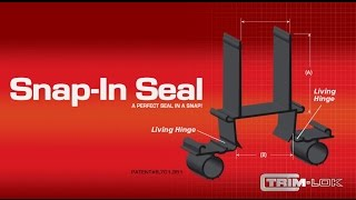 Trim Lok's Patented Snap In Seal for RV Slide-Outs