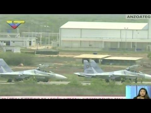 Venezuela realiza ejercicios militares en medio de crisis