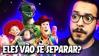 O WOODY VAI SE SEPARAR DO GRUPO!? - Toy Story 4
