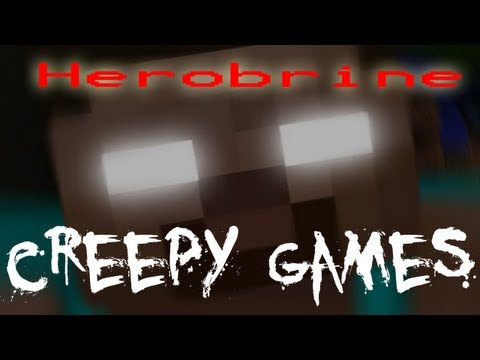 Creepy Games - EP3 Herobrine (Minecraft)