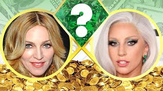 WHO'S RICHER? - Madonna or Lady Gaga? - Net Worth Revealed! (2017)