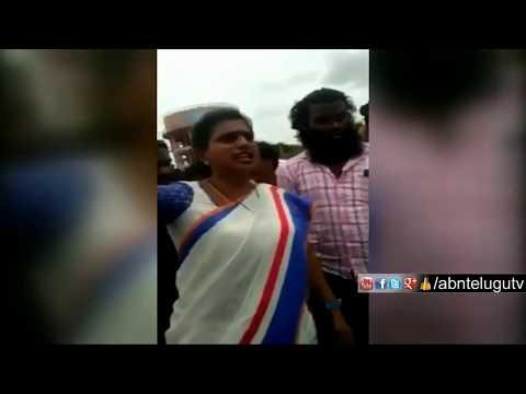 పోలీస్ల ఫై రోజా బూతు బీభత్సం | Caught On Camera | ABN Telugu